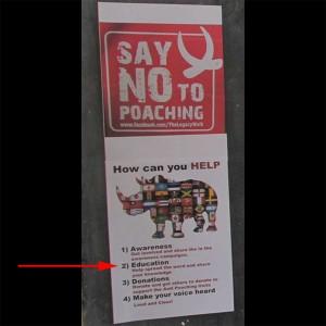 no-to-poaching_arrow